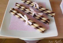 mesa de torta y dulce
