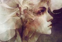 Portraits peinture