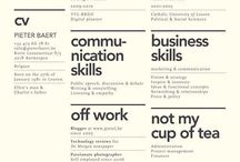 Know Oneself, Build Thyself. / Good Portfolio and Résumé design.