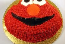 Elmo-Themed Birthday Ideas / Thinking of a second birthday party theme for my little boy. Since he loves Elmo, I thought that would be it.