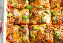Casseroles / Quick and easy casseroles cooked in the oven. Comfort food at its best.