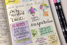 Diary/Journal Inspo