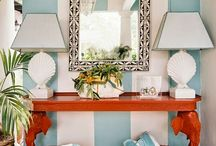Hollywood Regency - Palm Beach Chic - Hollywood Style - Glam - Preppy / Decoration