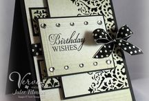Black And White Cards / by Sally Greggo