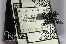 birthday cards / Handmade cards