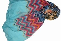 Abstract Print Design Scarves
