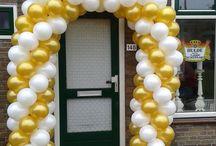 Ballondecoraties bruiloft / Ballondecoraties en tips voor je bruiloft