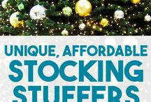 Stocking Stuffers / Stocking Stuffer ideas. Ideas for the family stockings. How to fill your stockings