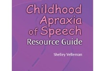 Apraxia of Speech / by SOS Inc. Resources