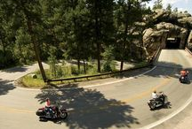 The Open Road / The rule in the Black Hills is that if it's on the map, it's worth driving! Whether by car or motorcycle, you'll find a multitude of pristine two-lane roads through stunning scenery and diverse terrain. Here, the cruising opportunities are unlimited.