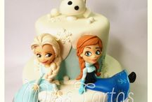 Frozen Cake Ideas