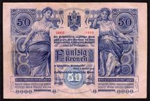 Austria-Hungarian Monarchy Banknotes / old banknotes from Austria-Hungarian Monarchy