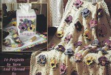 Amor - Perfeito Flores em Crochê / Perfect - Love Flowers into Crocheting