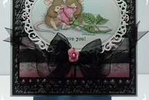 House mouse / maxwell cards and crafts
