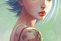 Games / Life is strange, Sims, Mystic Messenger, etc..