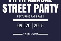 "Annual Street Party / See you in the street to celebrate another year ""Pub-In"" it."