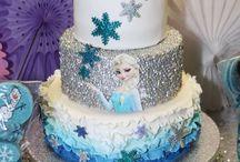 Elsa cake ideas