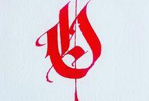 Kalligrafi och andra typos