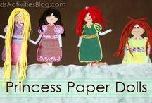 Princess Lessons Ideas / by Valorie Sankey