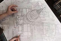 Графика , архитектура , рисунок