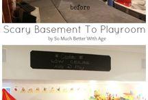 I wanna redo my basement!! / by Coreyanne Weynand