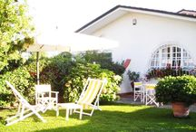 """Semidetached House Marina di Massa A85 / Semidetached House Marina di Massa (""""Poveromo"""") on 2 floors, 1,5 km from the sea with garden. Living room with kitchen, 2 double rooms and 2 bathrooms."""