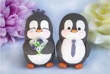 svatební tučňáci