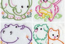 Machine embroidery / Machine embroidery designs
