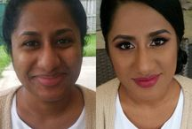 Before and Afters / Before and after hair and makeup