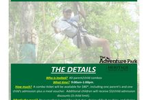 Father's Day Ideas / Ideas for Father's Day:  climb with us, season passes, and unlimited climb passes!