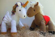 Toy, Animal and Amigirumi Crochet Patterns / Crochet patterns for toys and animals and amigirumi
