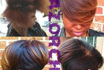 Short hairstyles / by Olivia Williams-Taylor