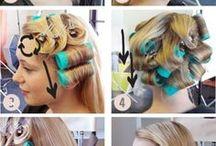 waves, braids, updos etc.