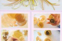 organze çiçek