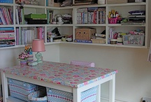 Dreamed sewing room