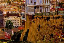 Valparaiso Chile / a nice city in chile near santiago with a lot of hills!