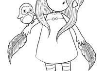 Kislányok-rajz