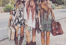Culture ~ summer heat / Culture borad #1 - -  Coachella inspired. - -  Messy fashion, detailed, boho, free spirited