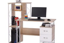 Modern Wooden Desk Furniture Student Beech Table Computer Office Storage Unit