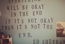 ed sheeran / by katie bugg