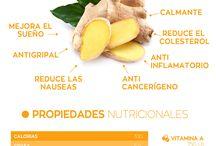 raices y vegetales beneficiosos