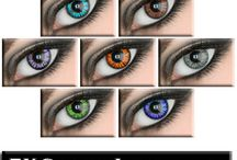 Coloured Contact Lenses / Coloured Contact Lenses - Different styles and colour contacts. Styles range from standard, impression, baby eyes, and circle contacts.  Colors range form From Blue, Green, Aqua, Grey, Violet, Brown & Amber.