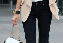 Working women dressing