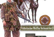 uniformes allemands WWII / militaires de la wehrmacht et waffen ss