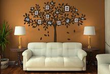 Tree wall decor
