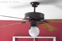 Home Projects / Ceiling fan makeover