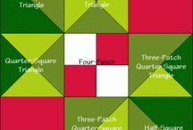 """Kitchen Quilting / Free """"food"""" quilt block instructions and recipes!"""