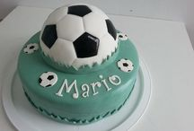 Football and Soccer Cakes / Football and soccer cakes