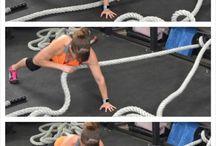 battle ropes / by Cheya Grant