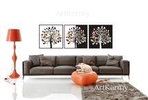 interior design / come abbellire casa vostra con le idee di ArtKarmy design www.carmensenia.it